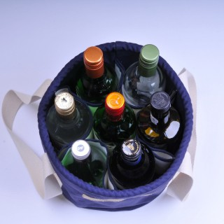 Wine Bucket - Navy Blue
