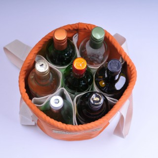 Wine Bucket - Orange