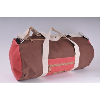 Holdall - Brown and Red