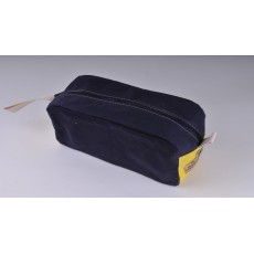Wash Bag - Navy Blue and yellow