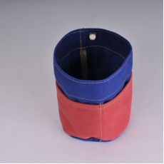 Desk Tidy -  Royal Blue and Red
