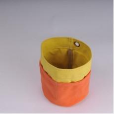 Desk Tidy - Yellow and Orange