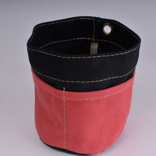 Desk Tidy - Black and Red