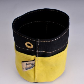Desk Tidy - Black and Yellow