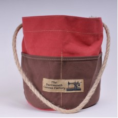 Bosun's Bucket - Red and Brown