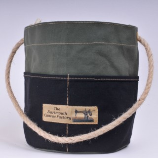 Bosun's Bucket - Olive and Black