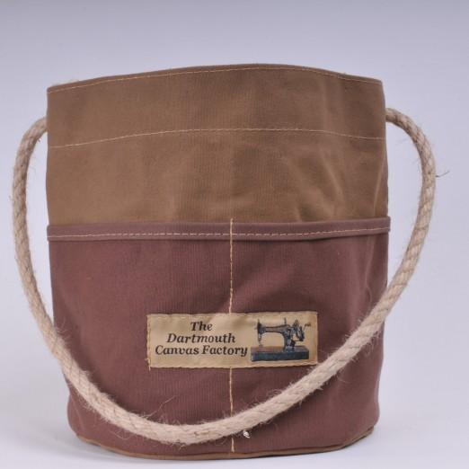 Bosun's Bucket - Khaki and Brown