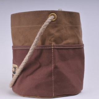 Bosun's Bucket - Khaki and Brown