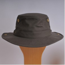 Cotton Tilley Hat T3 Olive