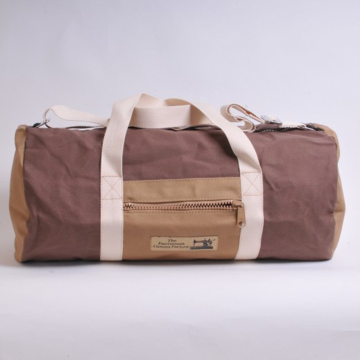 Holdall - Brown and Khaki