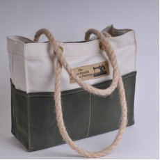 Tool Bag - Natural and Olive