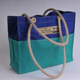 Tool Bag - Royal Blue and Green