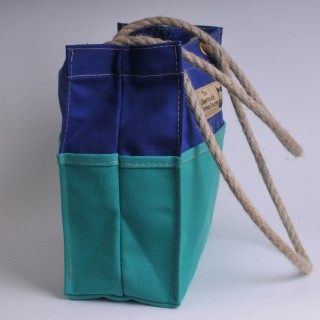 Tool Bag - Royal Blue and Green