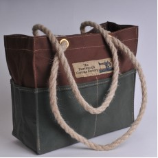 Tool Bag - Brown and Olive