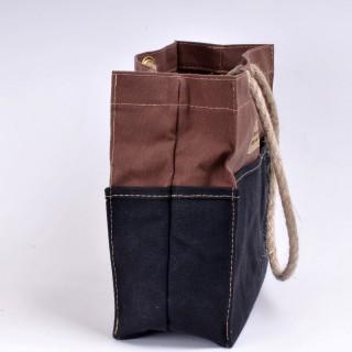 Tool Bag - Brown and Black