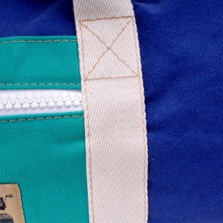 Holdall - Royal Blue and Green