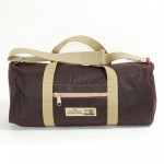 Holdall Waxed Cotton Mulberry