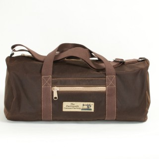 Holdall Waxed Cotton Brown