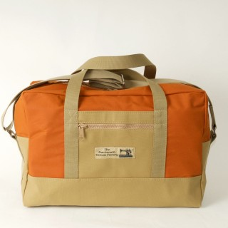 Airline carry on bag - Orange and tan