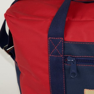 Airline carry on bag - Red and Navy Blue