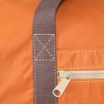 Holdall Waxed Cotton Orange