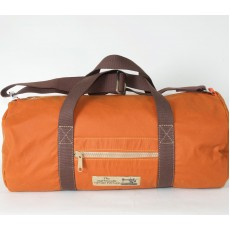 Holdall Waxed Cotton Orange