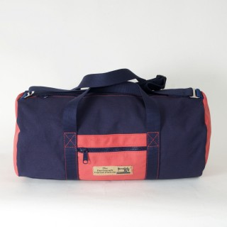 Holdall - Navy Blue and Red