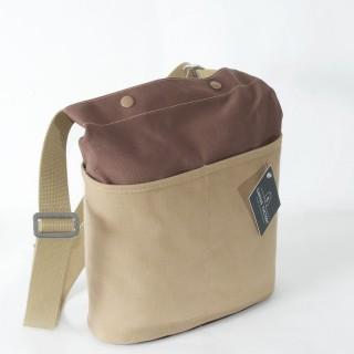 Forager bag brown and tan
