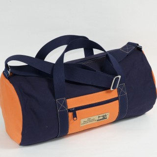 Holdall - Navy blue and Orange