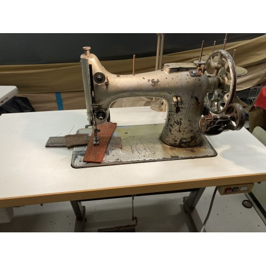 Leather Sewing Machine, Singer